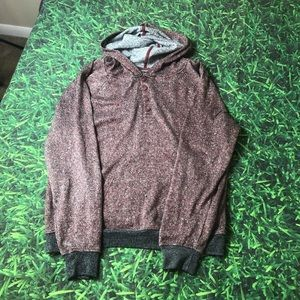 Brooklyn Cloth Co Comfortable Hoodie Soft Red
